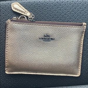 Authentic Coach Card Case AMAZING condition!!